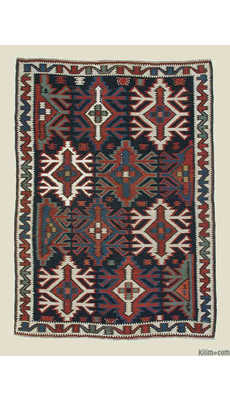 Antique Kuba Kilim