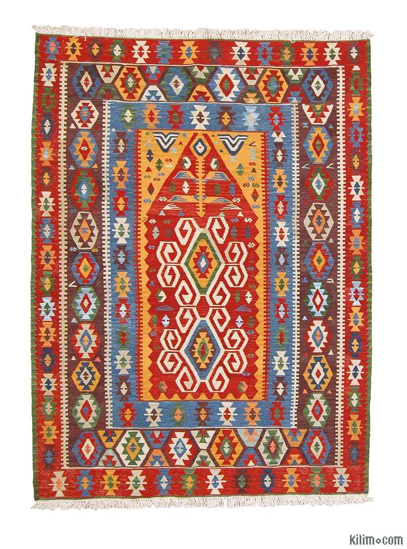 K0003868 Multicolor New Turkish Kilim Rug