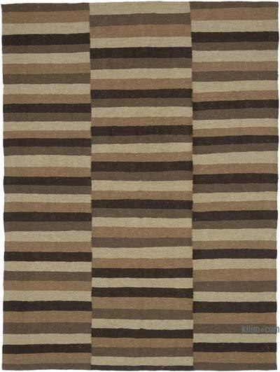 "New Handwoven Turkish Kilim Rug - 4'8"" x 6'3"" (56 in. x 75 in.)"