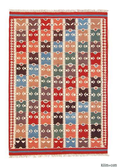 Multicolor New Turkish Kilim Area Rug