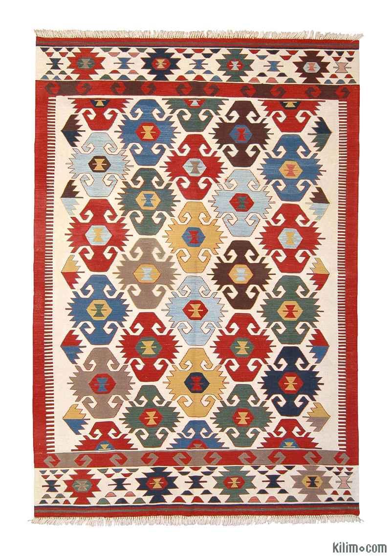 K0003904 Multicolor New Turkish Kilim Area Rug