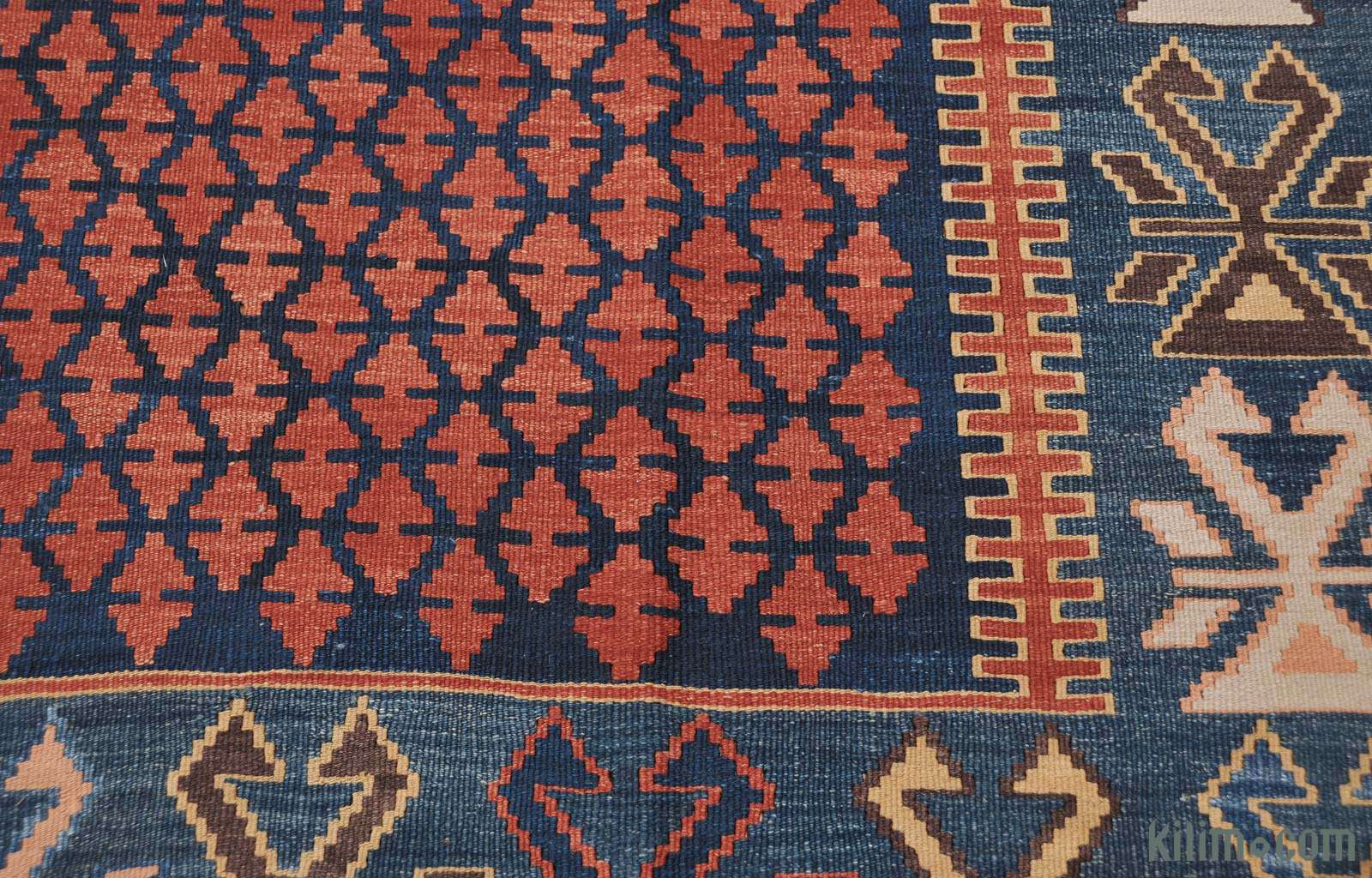 Kilim area rug for Carrelage passion