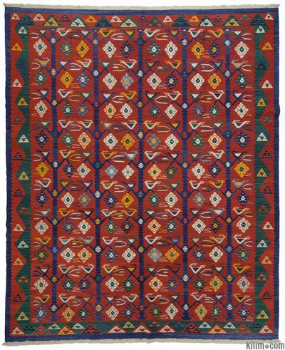 "New Turkish Kilim Rug - 8'8"" x 10'6"" (104 in. x 126 in.)"