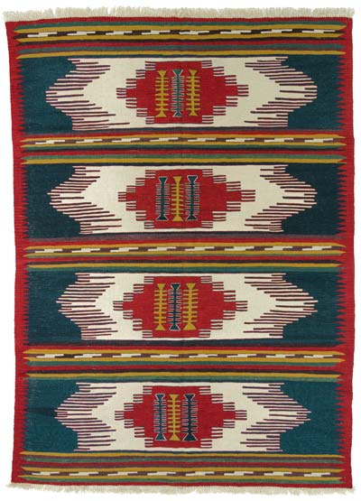 "New Turkish Kilim Rug - 6' x 8'3"" (72 in. x 99 in.)"