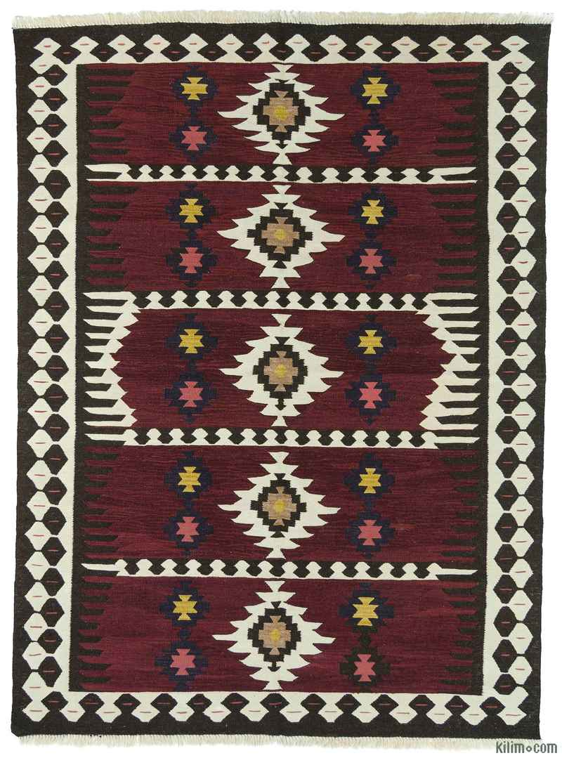 k0004623 red new turkish kilim rug. Black Bedroom Furniture Sets. Home Design Ideas