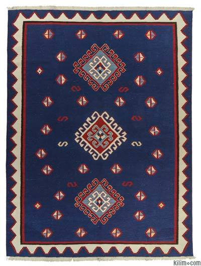 "New Handwoven Turkish Kilim Rug - 8'2"" x 10'8"" (98 in. x 128 in.)"