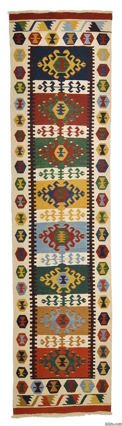 Multicolor New Turkish Kilim Runner