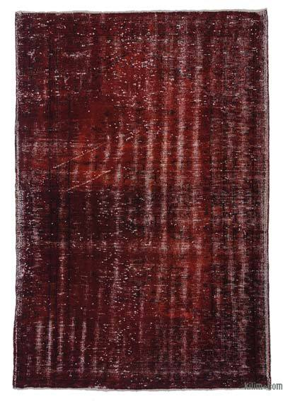 Over-dyed Turkish Vintage Rug - 5'4'' x 7'11'' (64 in. x 95 in.)
