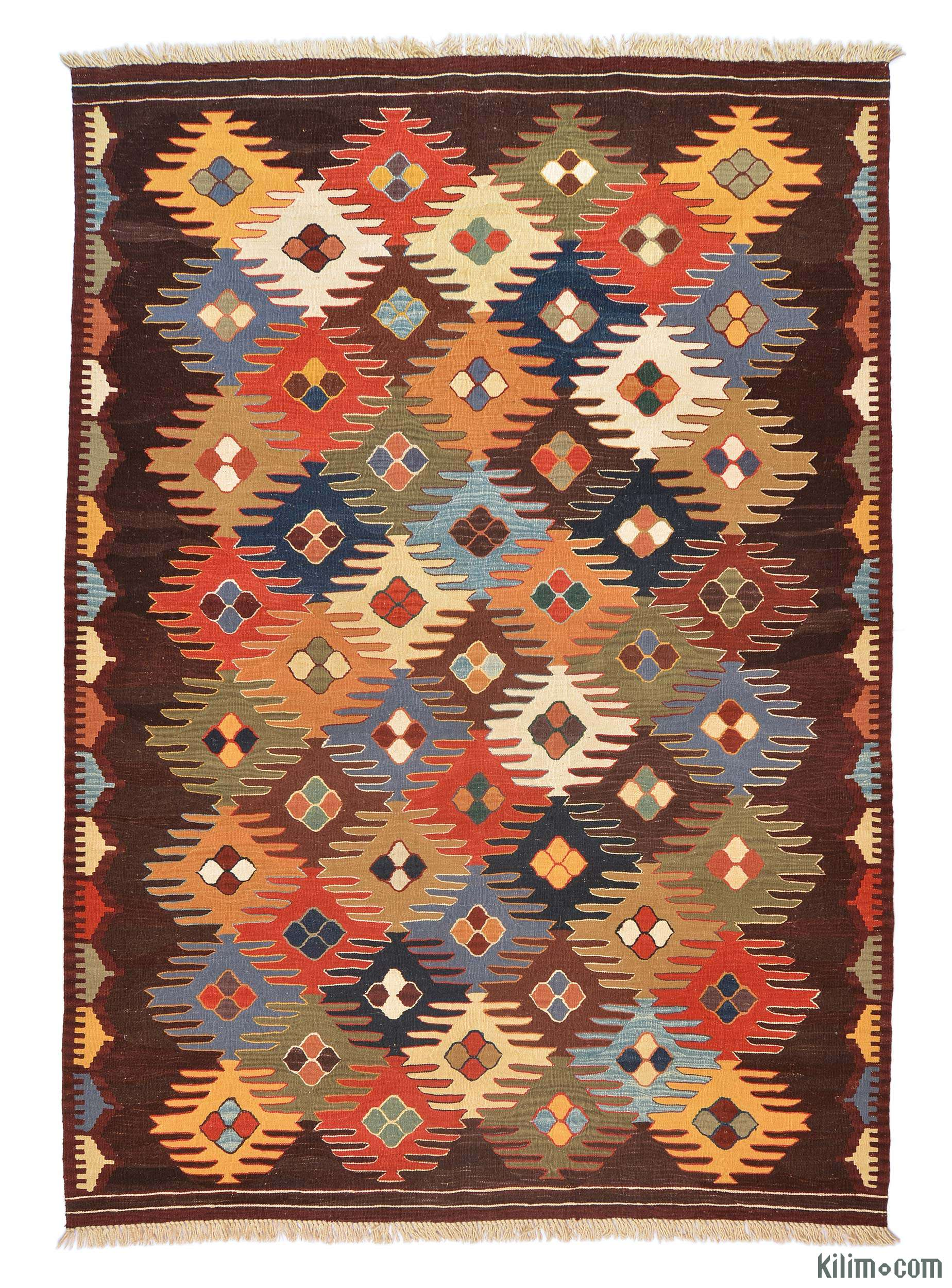 k0005789 multicolor new turkish kilim rug. Black Bedroom Furniture Sets. Home Design Ideas