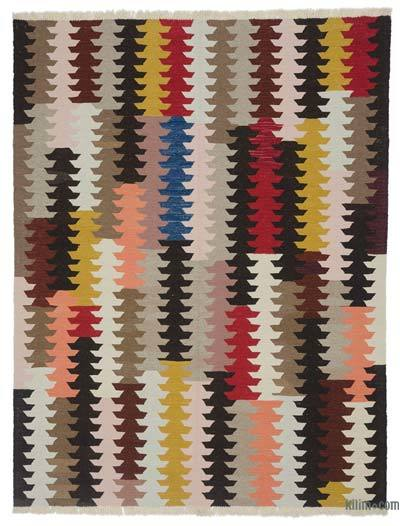 "New Handwoven Turkish Kilim Rug - 6'2"" x 8'1"" (74 in. x 97 in.)"