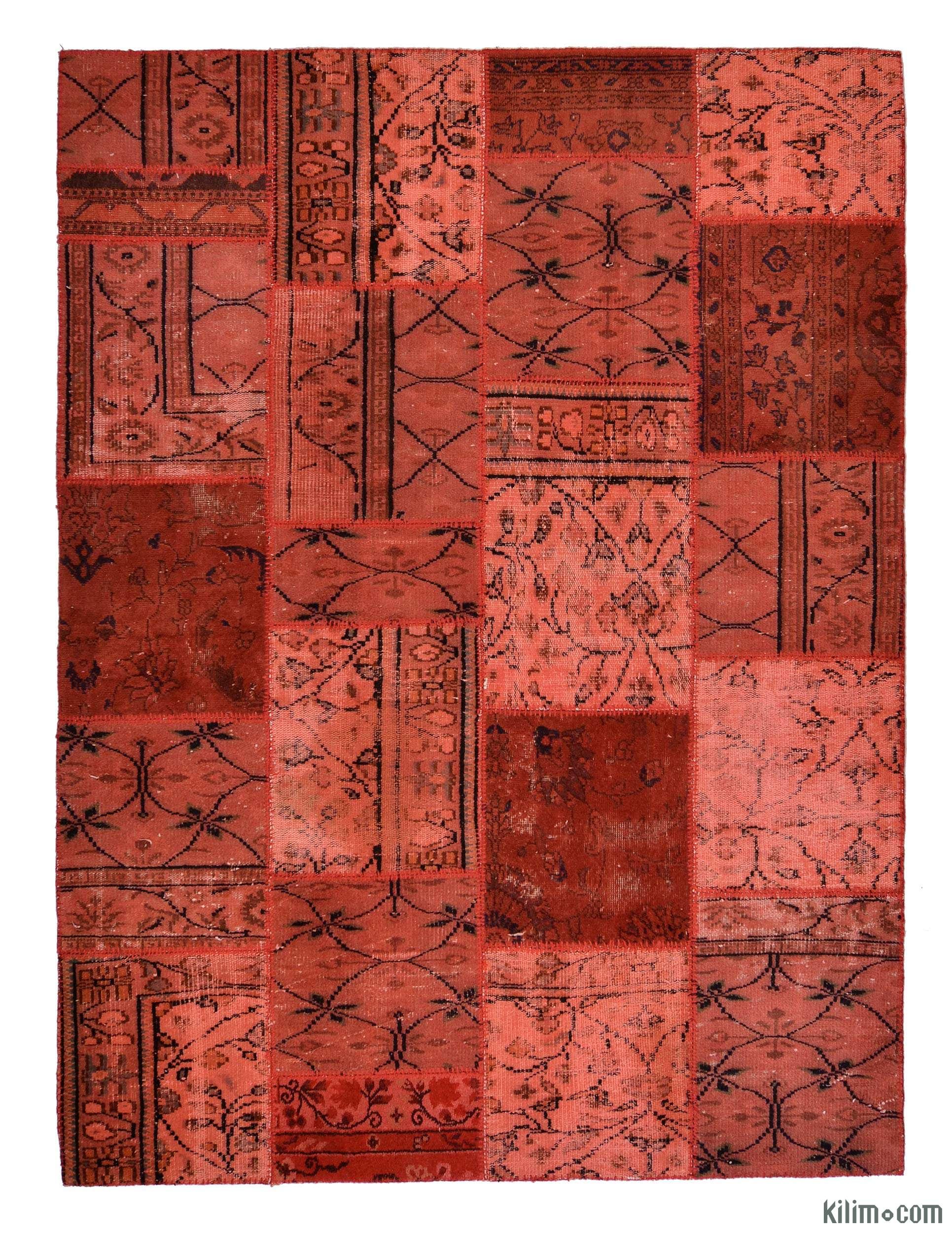 Overdyed Patchwork Rugs Kilim Rugs Overdyed Vintage