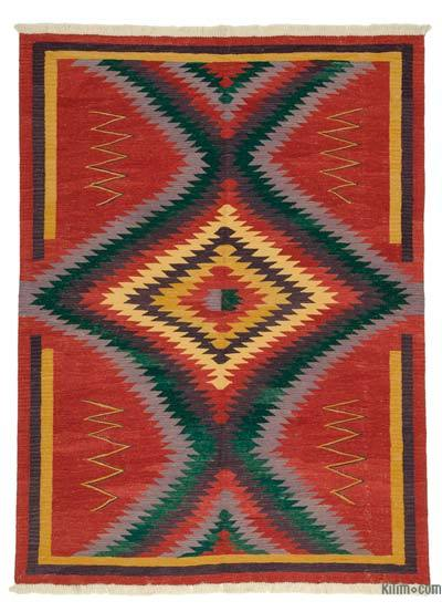 "New Handwoven Turkish Kilim Rug - 6' x 8'1"" (72 in. x 97 in.)"