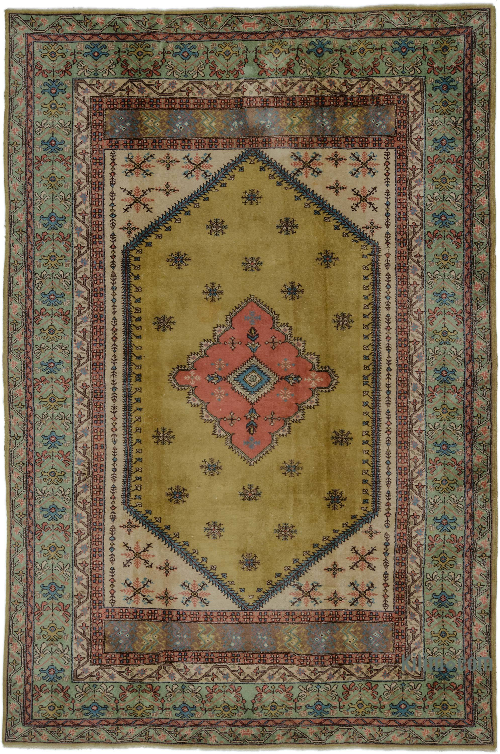 K0006030 Multicolor New Turkish Carpet 6 9 X 10 2
