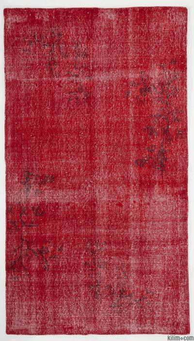 "Over-dyed Turkish Vintage Rug - 3'8"" x 6'7"" (44 in. x 79 in.)"