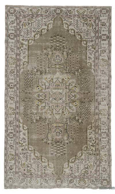 Turkish Vintage Area Rug - 5'11'' x 10'2'' (71 in. x 122 in.)