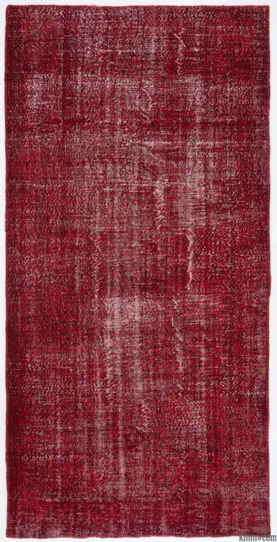 "Over-dyed Turkish Vintage Rug - 5'4"" x 10'9"" (64 in. x 129 in.)"