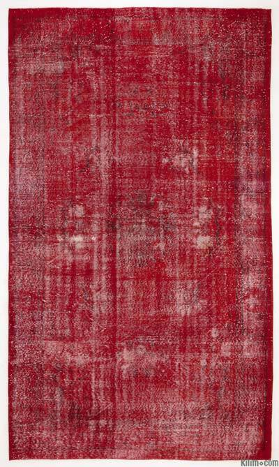 "Over-dyed Turkish Vintage Rug - 6' x 10'6"" (72 in. x 126 in.)"