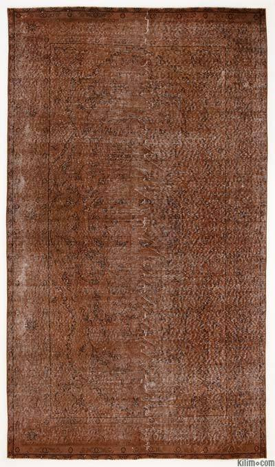 "Over-dyed Turkish Vintage Rug - 5' x 8'10"" (60 in. x 106 in.)"