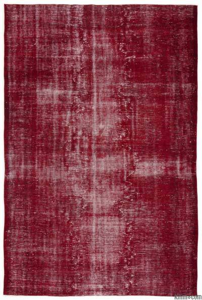 "Over-dyed Turkish Vintage Rug - 6'9"" x 9'10"" (81 in. x 118 in.)"