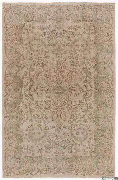 "Turkish Vintage Area Rug - 5'3"" x 8'4"" (63 in. x 100 in.)"