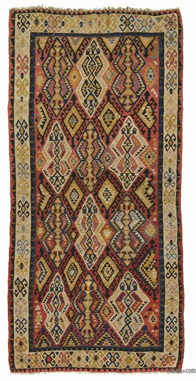 Antique Avar Kilim Rug