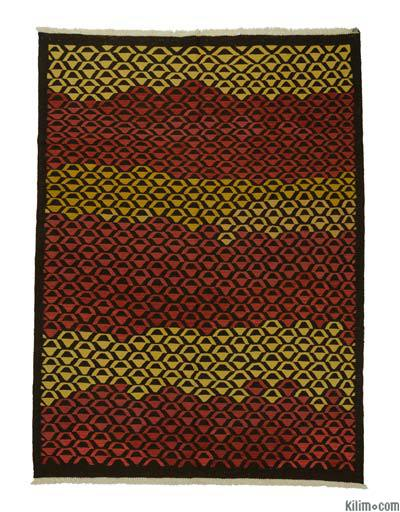 "New Handwoven Turkish Kilim Rug - 6'3"" x 8'6"" (75 in. x 102 in.)"
