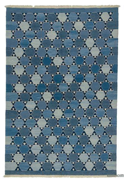"New Handwoven Turkish Kilim Rug - 6'2"" x 9'2"" (74 in. x 110 in.)"
