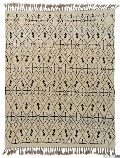 "New Turkish Tulu Rug - 6'11"" x 8'2"" (83 in. x 98 in.)"