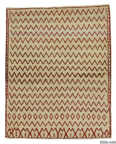 "New Turkish Tulu Rug - 4'6"" x 5'8"" (54 in. x 68 in.)"