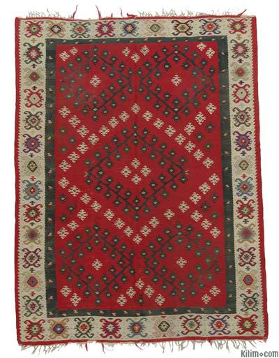 Antique Sharkoy Kilim Rug