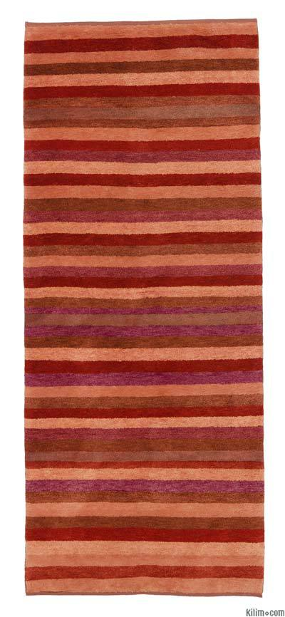 New Turkish Pile Runner Rug - 2'9'' x 6'11'' (33 in. x 83 in.)