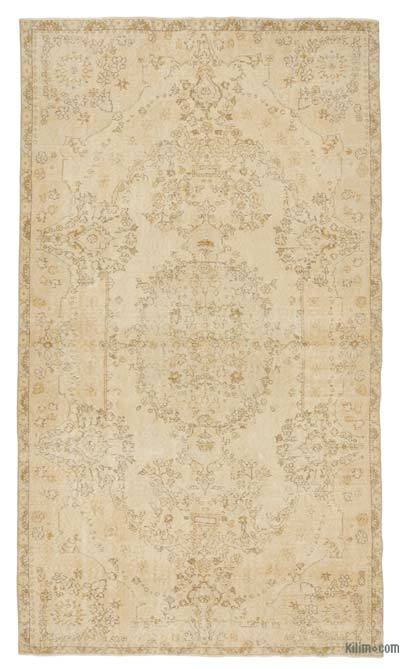 Over-dyed Turkish Vintage Rug - 5'8'' x 9'10'' (68 in. x 118 in.)