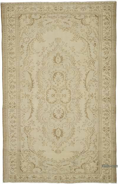 "Over-dyed Turkish Vintage Rug - 6'3"" x 9'7"" (75 in. x 115 in.)"