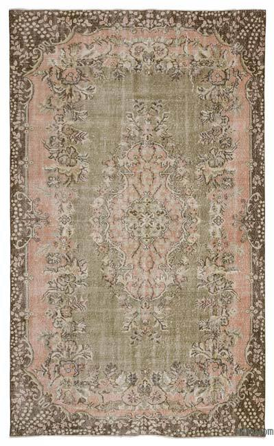 Turkish Vintage Rug - 5'11'' x 9'8'' (71 in. x 116 in.)