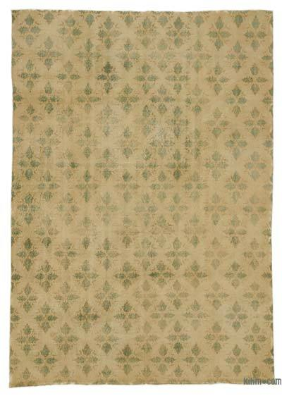 Turkish Vintage Area Rug - 6'10'' x 9'9'' (82 in. x 117 in.)