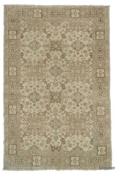 "Turkish Vintage Area Rug - 6'11"" x 10'7"" (83 in. x 127 in.)"