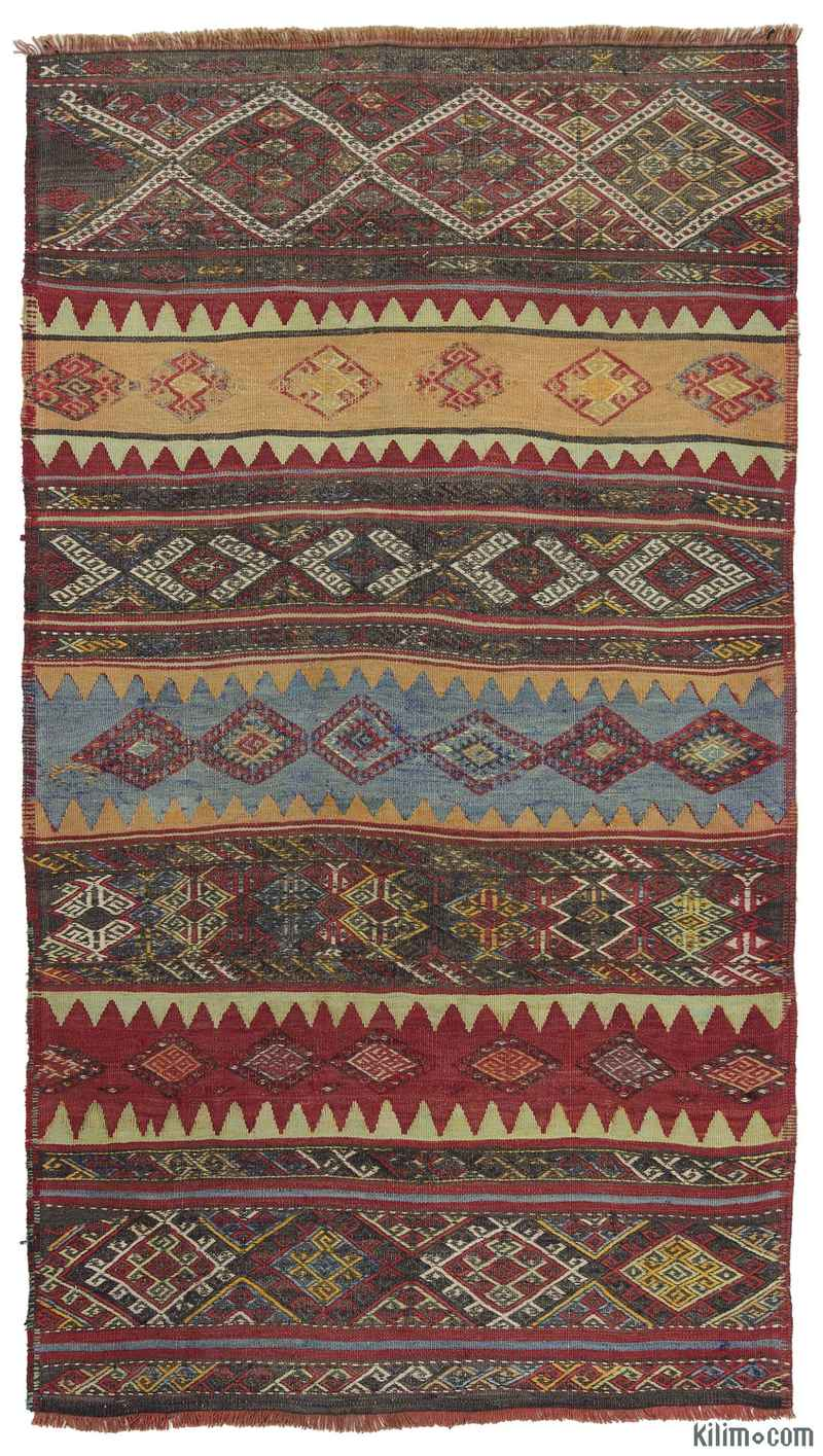 k0010299 multicolor vintage malatya kilim rug. Black Bedroom Furniture Sets. Home Design Ideas