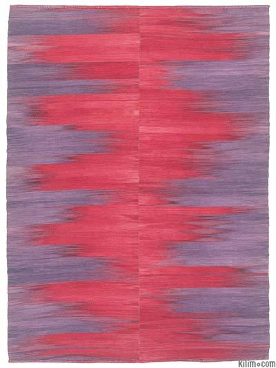 Purple, Red Neo Caspian Kilim Rug