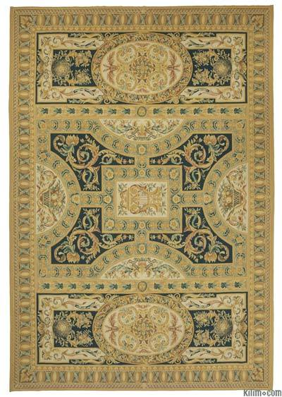 Aubusson Rug - 9'11'' x 14'2'' (119 in. x 170 in.)