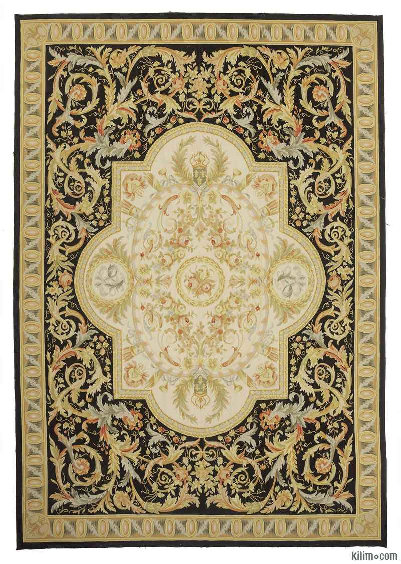 K0010693 Aubusson Rug 9 11 Quot X 14 4 Quot 119 In X 172 In