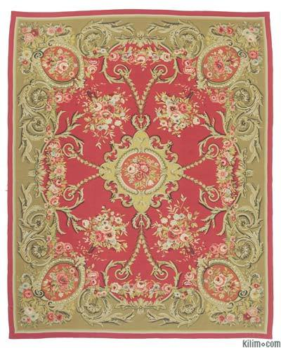 "Aubusson Rug - 8'7"" x 10'10"" (103 in. x 130 in.)"