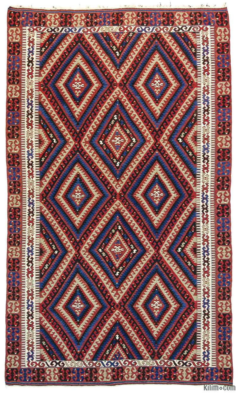 k0010734 vintage fethiye kilim rug. Black Bedroom Furniture Sets. Home Design Ideas