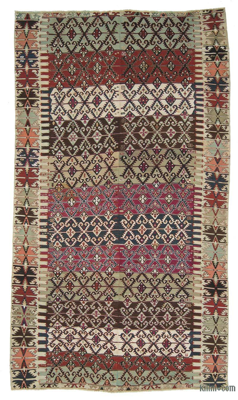 k0010745 vintage malatya kilim rug. Black Bedroom Furniture Sets. Home Design Ideas