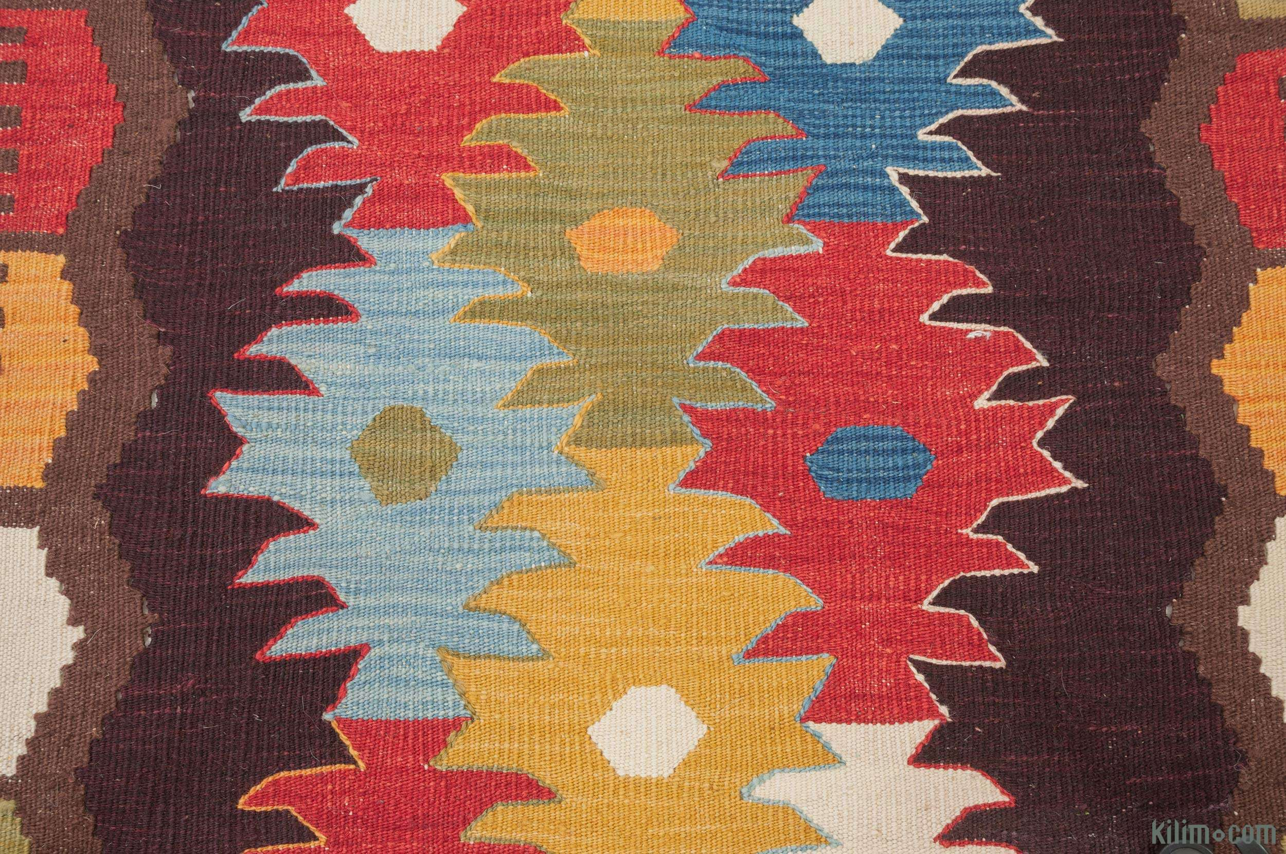 K0010802 New Turkish Kilim Runner Rug