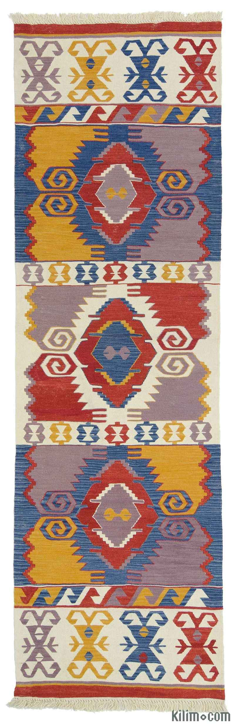 K0010804 New Turkish Kilim Runner Rug