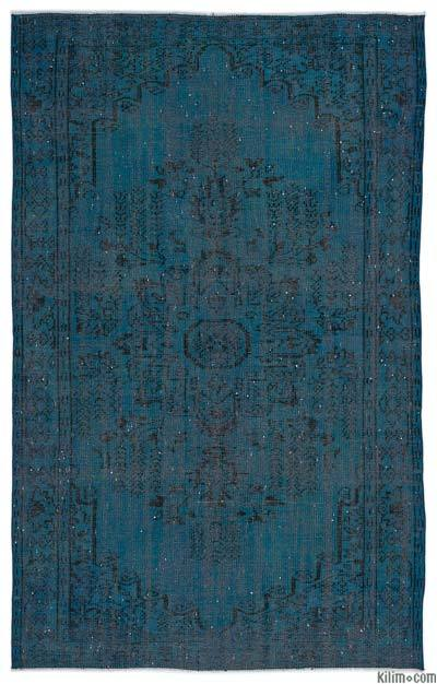 "Over-dyed Turkish Vintage Rug - 5'5"" x 8'9"" (65 in. x 105 in.)"