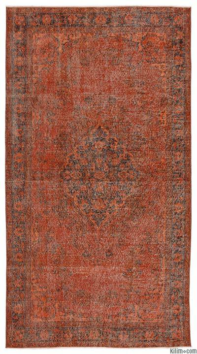 "Over-dyed Turkish Vintage Rug - 5'4"" x 10' (64 in. x 120 in.)"