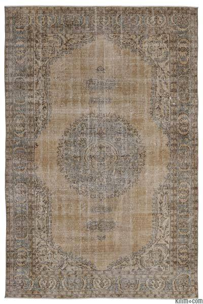 Turkish Vintage Area Rug - 7'1'' x 10'8'' (85 in. x 128 in.)