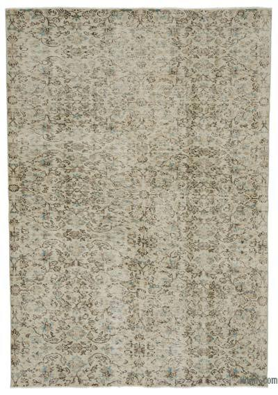 "Turkish Vintage Area Rug - 5'9"" x 8'4"" (69 in. x 100 in.)"