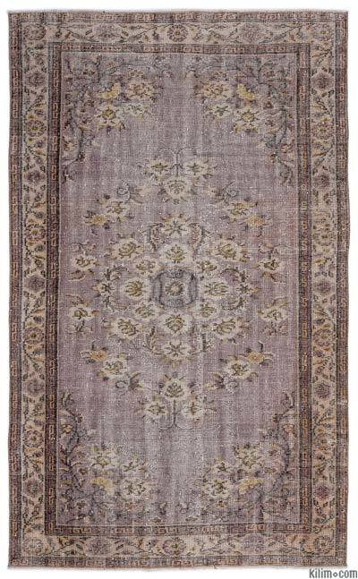 "Turkish Vintage Area Rug - 5' x 8'3"" (60 in. x 99 in.)"